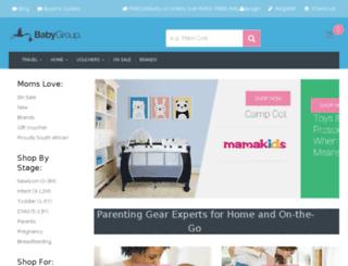 babygroup.co.za screenshot