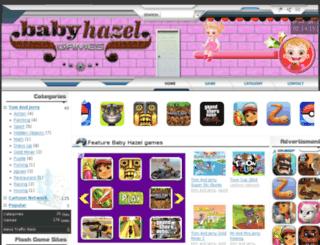 babyhazel.games235.com screenshot