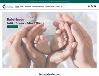 babyhopes.com screenshot