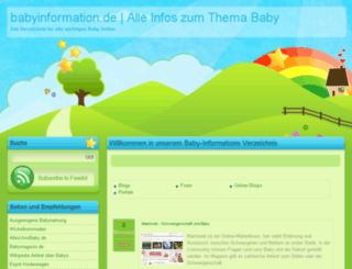 babyinformation.de screenshot