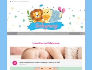 babymag.be screenshot