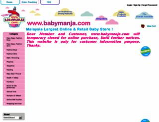 babymanja.com screenshot