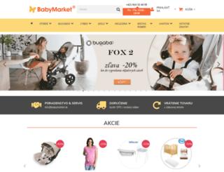 babymarket.sk screenshot