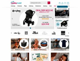 babymarkt.de screenshot