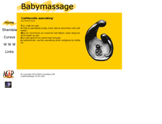 babymassage.bevalt.nl screenshot