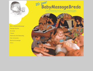 babymassagebreda.nl screenshot