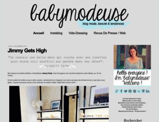 babymodeuse.com screenshot