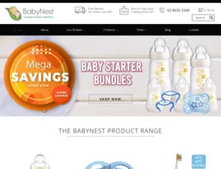 babynest.com.au screenshot