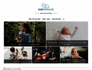 babypedia.de screenshot