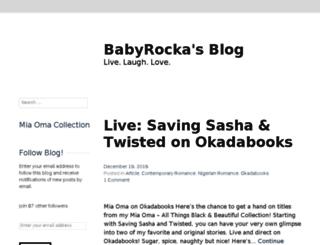 babyrocka.wordpress.com screenshot