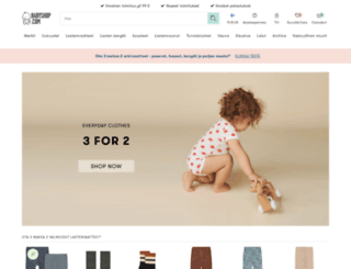 babyshop.fi screenshot