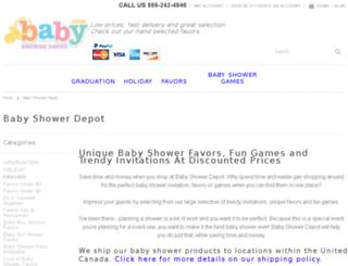 babyshowerdepot.com screenshot