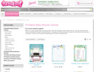 babyshowergamesatoz.com screenshot