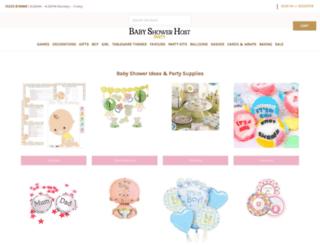 babyshowerhost.co.uk screenshot