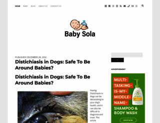 babysola.com screenshot