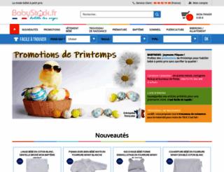 babystock.fr screenshot