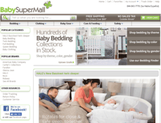 babysupermall.com screenshot