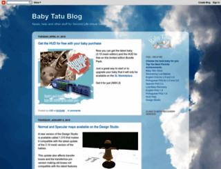 babytatu.blogspot.com screenshot