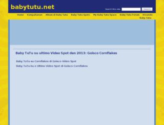 babytutu.net screenshot