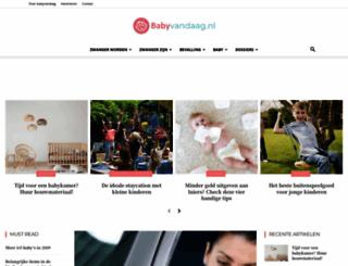 babyvandaag.nl screenshot