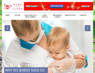 babywithclass.com screenshot