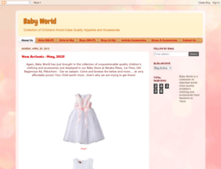 babyworld-tz.blogspot.com screenshot