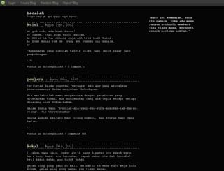 baca.blog.com screenshot
