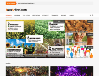 bacaartikel.com screenshot