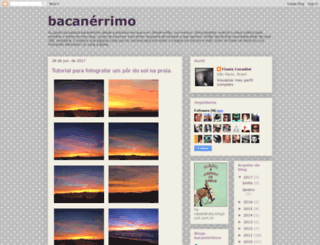 bacanerrimo.blogspot.com screenshot