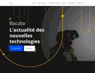 bacata.net screenshot