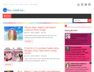 bacauntuktau.blogspot.co.id screenshot