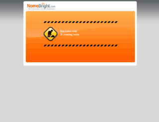 baccana.com screenshot