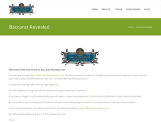 baccaratrevealed.com screenshot