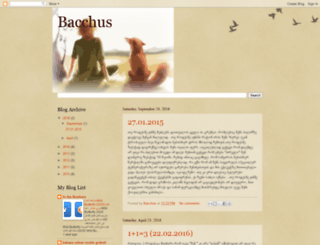 bacchuuss.blogspot.com screenshot
