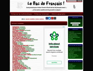 bacdefrancais.net screenshot