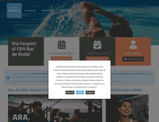 bacderodasport.com screenshot