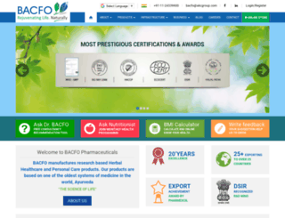 bacfo.com screenshot