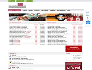 bacgiang.kvn.vn screenshot