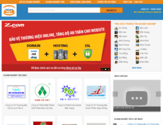 bacgiang.vietnamnay.com screenshot