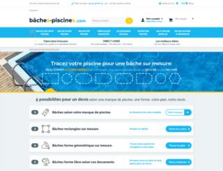 baches-piscines.com screenshot