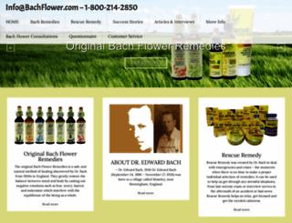 bachflower.com screenshot