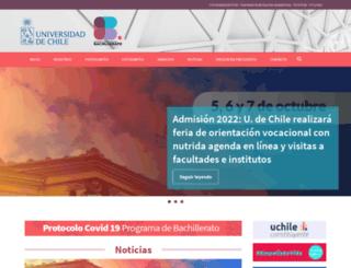 bachillerato.uchile.cl screenshot
