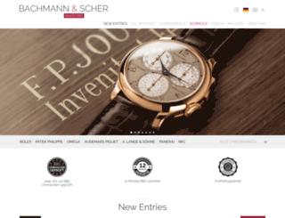 bachmann-scher.de screenshot