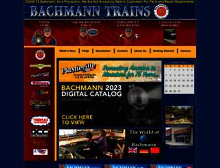 bachmanntrains.com screenshot