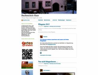 bachmichels.wordpress.com screenshot