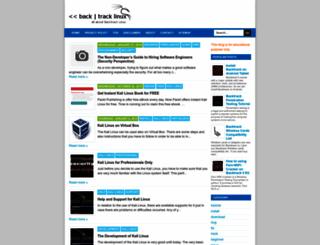back-track-linux.blogspot.com screenshot