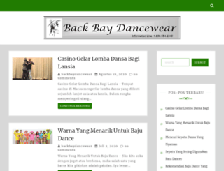 backbaydancewear.com screenshot