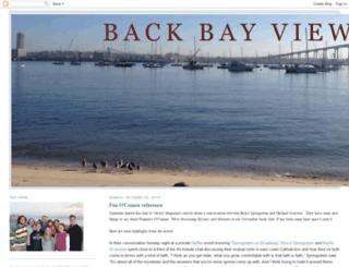 backbayview.blogspot.com screenshot