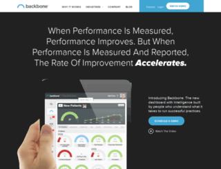 backbonepro.com screenshot