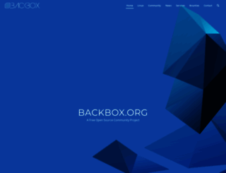 backbox.org screenshot